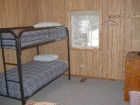 Bunk Bed and room