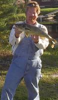 25 inch Walleye caught on Namamkan Lake