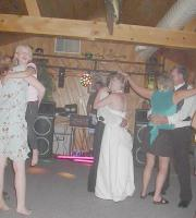 A local wedding held at Ash Trail Lodge